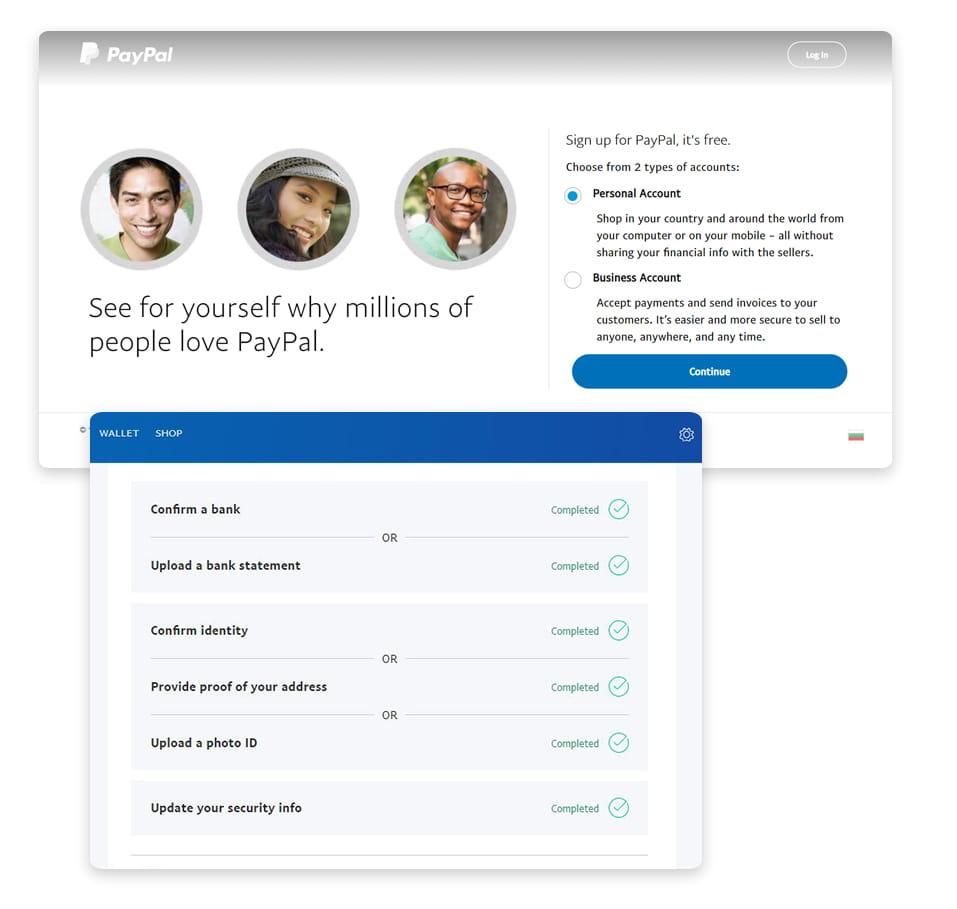 PayPal акаунт