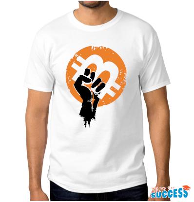 Мъжка бяла тениска Btc Arm