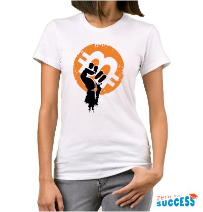 Дамска бяла тениска Btc Arm