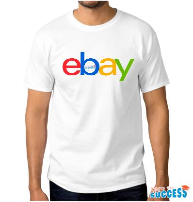 Мъжка бяла тениска eBay